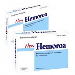 NEW Hemoroa SidoMuncul - membantu perawatan wasir (hemoroid, ambeien). Di jual dengan harga murah