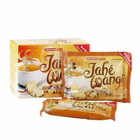 Jahe Wangi / Doos SidoMuncul - ekstrak jahe, yang bersifat menghangatkan dan menyegarkan badan.