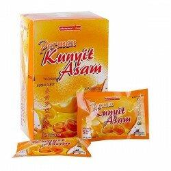 Jual Kunyit Asam Permen SidoMuncul - Terbuat dari bahan alami buah asam dan ekstrak kunyit. dengan rasanya yang menyegarkan