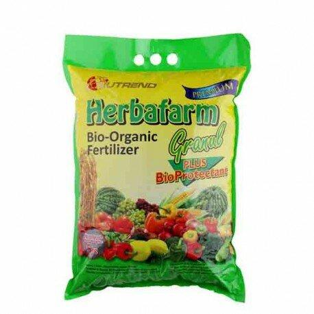 Nutrend Herbafarm Granul 5Kg - Pupuk bio organik menjadikan tanaman lebih unggul