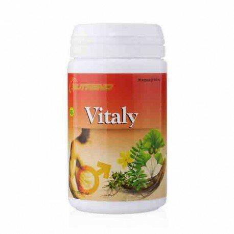 Nutrend Vitaly Capsules - Mampu membantu menjaga Kebugaran, Stamina & Vitalitas Pria