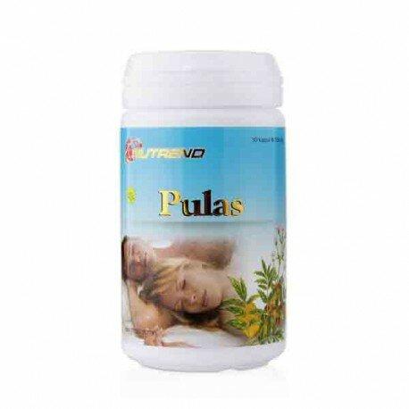 Nutrend Pulas - Membantu merelaksasi ketegangan syaraf dan mengatasi insomnia.