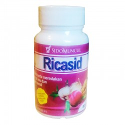 Ricasid SidoMuncul - Membantu perawatan asam urat, nyeri sendi, daya tahan tubuh, melancarkan sirkulasi darah, di jual murah