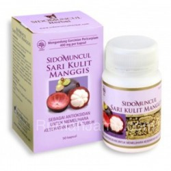 Sidomuncul Membantu Meningkatkan Kekebalan Tubuh - Ekstrak Sari Kulit Manggis