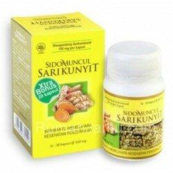 Sido Muncul Membantu Melindungi Hati/hepatoprotektor - Ekstrak Sari Kunyit