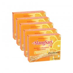 Alangsari Plus Jeruk Manis SidoMuncul 5 Box - Membantu proses perawatan untuk meredakan panas dalam, sariawan. Di jual murah