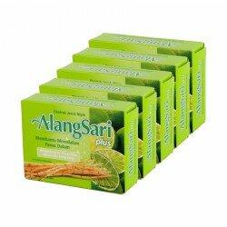 Alangsari Plus Jeruk Nipis Sido Muncul 5 Box - Mengandung ekstrak alang2, cincau hijau. Untuk panas dalam. Di jual murah