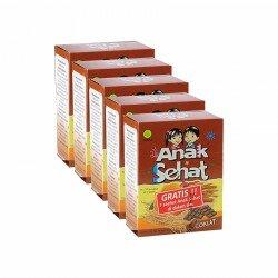 Anak Sehat Coklat SidoMuncul 5 Box - Membantu proses penambah nafsu makan dan daya tahan tubuh anak. Di jual harga murah