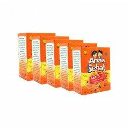 Anak Sehat Jeruk SidoMuncul 5 Box - Membantu untuk tumbuh sehat dan cerdas pada anak. Di jual harga murah