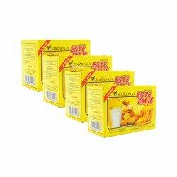ESTE-EMJE (Susu) SidoMuncul 4 Box - Mengandung ginseng, dapat menghangatkan tubuh dan menyegarkan badan STMJ jual harga Murah