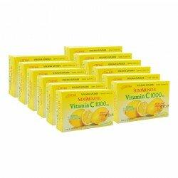 Jual vitamin C 1000 mg SidoMuncul 12 box - Antioksidan, membuat awet muda, menjaga daya tahan, menghaluskan kulit. Harga murah