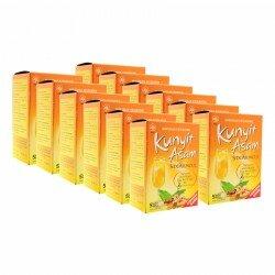 Kunyit Asam SidoMuncul 12 Box - Membantu menghaluskan kulit, menghilangkan bau nafas / badan, khusus wanita