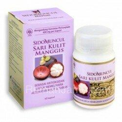 Jamu Herbal untuk Penyakit Diabetes Melitus Sido Muncul - Ekstrak Sari Kulit Manggis
