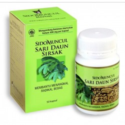 Ekstrak Sari Daun Sirsak SidoMuncul - di jual harga murah, memiliki manfaat bagi kesehatan. juga sebagai antioksidan