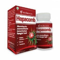 Hepacomb SidoMuncul - di jual harga murah, Curcumae Rhizoma,Phyllanthi membantu perawatan polimerase DNA virus Hepatitis B