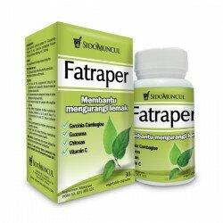Fatraper SidoMuncul - Membantu mengurangi kolesterol, pelangsing, menyerap lemak, menekan napsu makan. Di jual harga murah