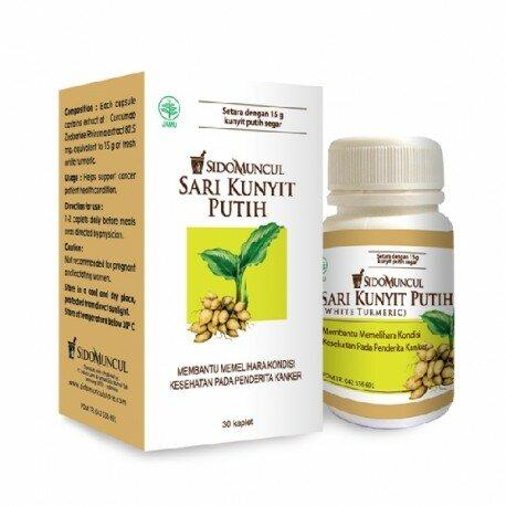 Kunyit Putih SidoMuncul - Mengandung kurdione, kurkumol berkhasiat, bermanfaat membantu meningkatkan imunitas. D jual murah
