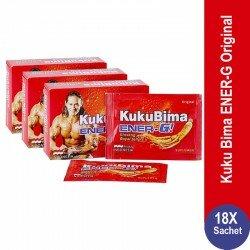Harga Sidomuncul Kuku Bima Ener-G Original Murah - 3 Box - Membantu Stamina, Metabolisme Tubuh, Menyegarkan Badan