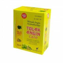 Roll On Tolak Angin Care SidoMuncul (Box isi 6 botol) - Minyak Angin Aromatherapy - Meredakan Masuk Angin, Di jual harga murah