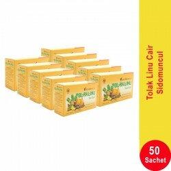Tolak Linu Cair SidoMuncul 10 Box - Membantu Pegal Linu dan Nyeri Sendi (kaki, lutut, bahu, tangan & tulang) Jual Harga Murah