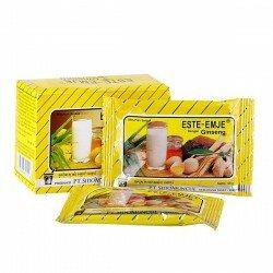 ESTE-EMJE ( Susu ) SidoMuncul - Mengandung ginseng, dapat menghangatkan tubuh dan menyegarkan badan. STMJ di jual harga grosir.