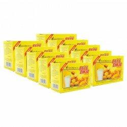 ESTE-EMJE (Susu) SidoMuncul 10 Box - Mengandung ginseng, dapat menghangatkan tubuh dan menyegarkan badan STMJ jual harga Murah