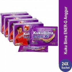 Harga Kuku Bima Ener-G Anggur Sidomuncul - 4 Box - Membantu Proses Perawatan Stamina Metabolisme Tubuh